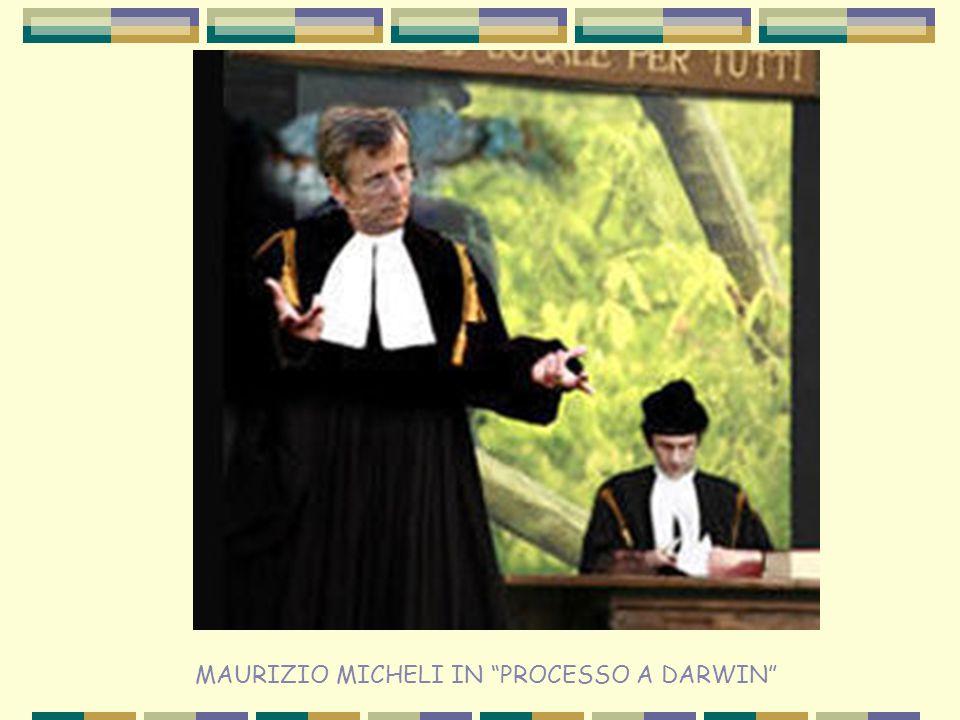 """MAURIZIO MICHELI IN """"PROCESSO A DARWIN"""""""