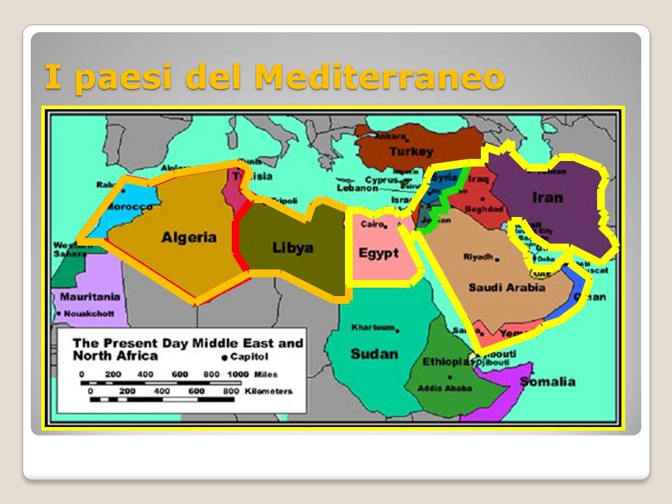 I paesi del Mediterraneo