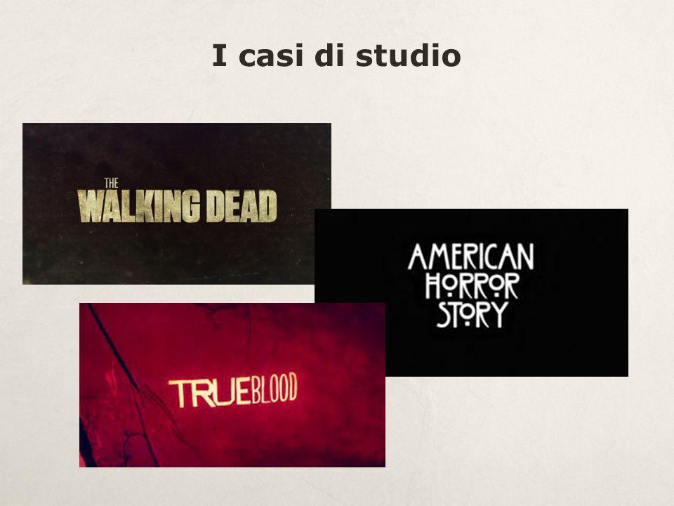 Elementi in comune  Genere horror fantastico  Produzione USA dal 2008 ad oggi  Trasmessi negli USA da tre canali via cavo (AMC, FX, HBO)  Trasmessi in Italia dal canale satellitare FOX di Sky  Target di riferimento fascia 18-49 anni