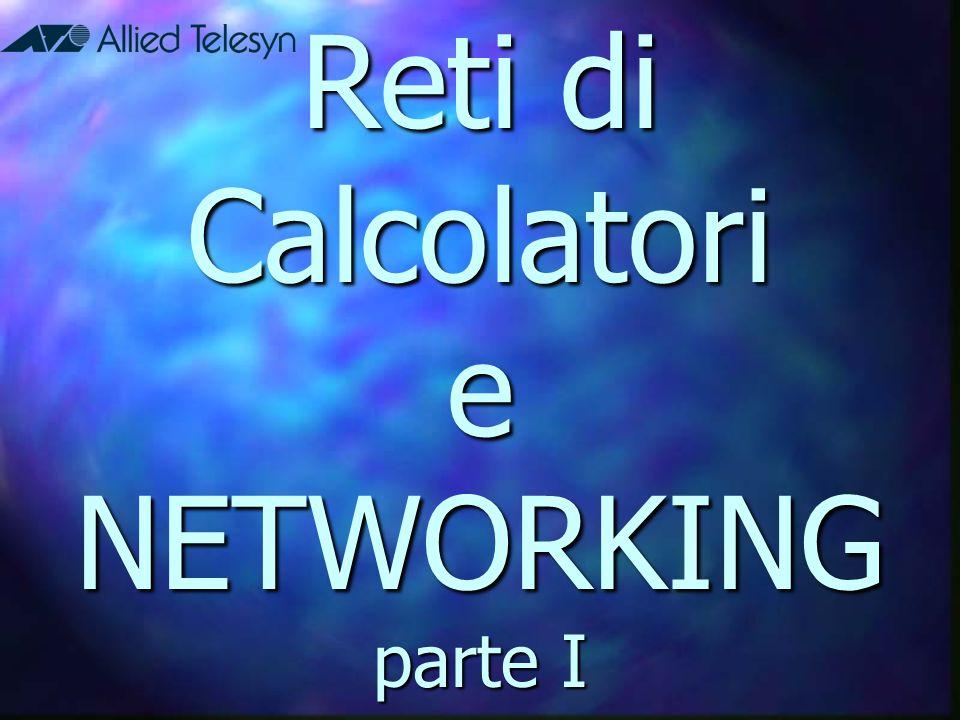 Networking Una rete elementare consiste di due computer collegati fra loro tramite un cavo allo scopo di consentire la condivisione di dati (documenti, messaggi, grafica) e risorse (stampanti, fax, modem).