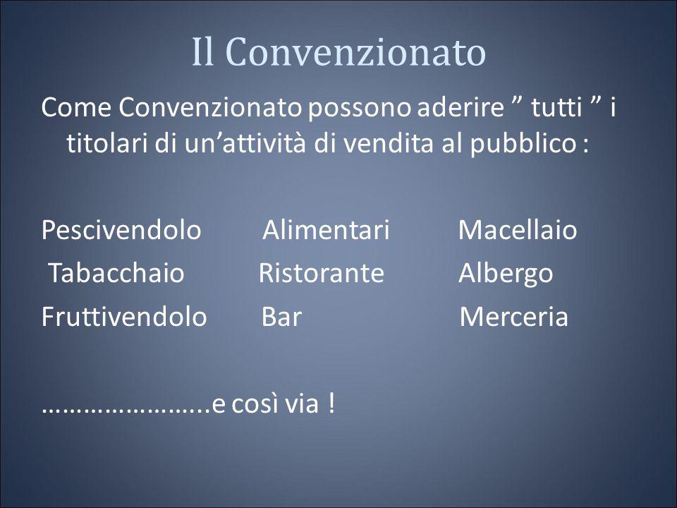 Cosa guadagna il Convenzionato Per ogni spesa fatta il Convenzionato guadagna 1 € nel periodo di prova e non paga niente.