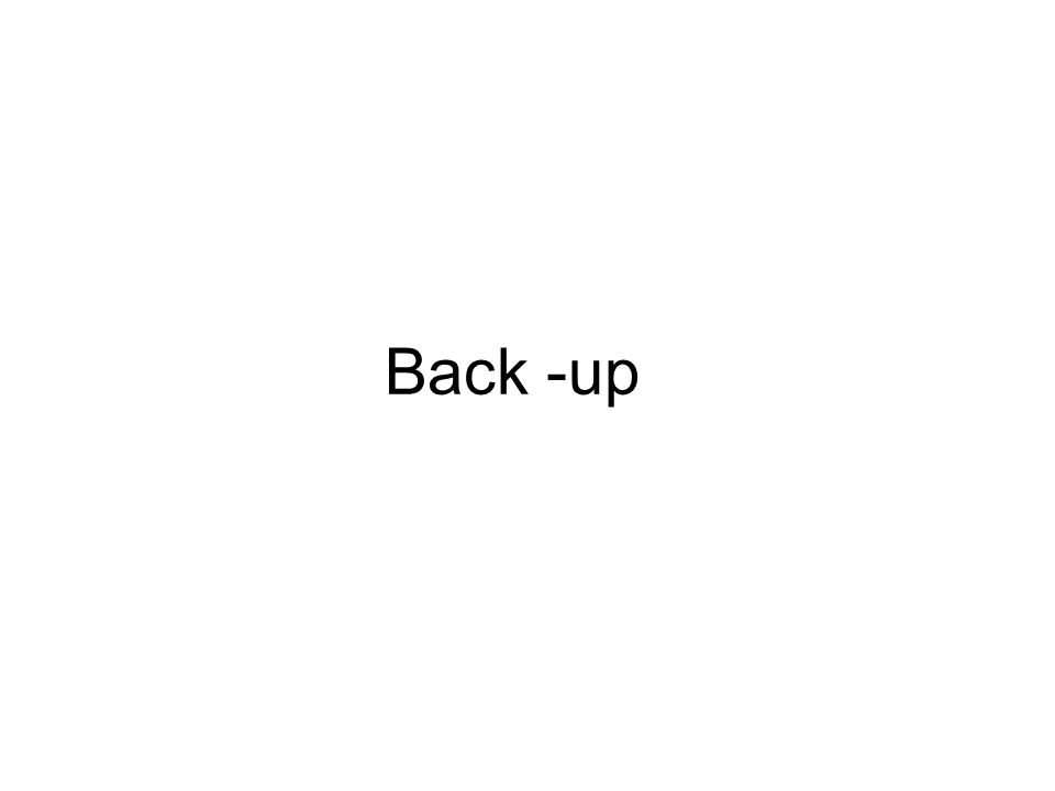 Back -up