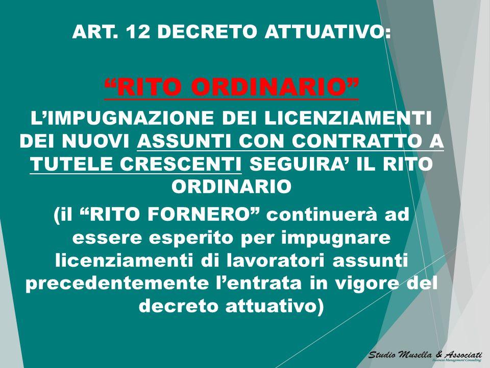 CONCILIAZIONE FACOLTATIVA La conciliazione facoltativa è prevista anche per le AZIENDE FINO A 15 DIPENDENTI in caso di licenziamento di lavoratori ass