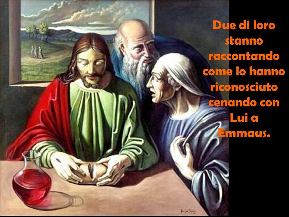 Luca descrivendoci l'incontro di Gesù risuscitato con il gruppo dei discepoli ci vuol dire questo. Tra i discepoli c'è di tutto.