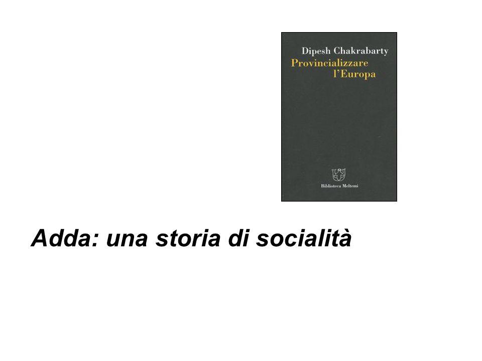 Adda: una storia di socialità