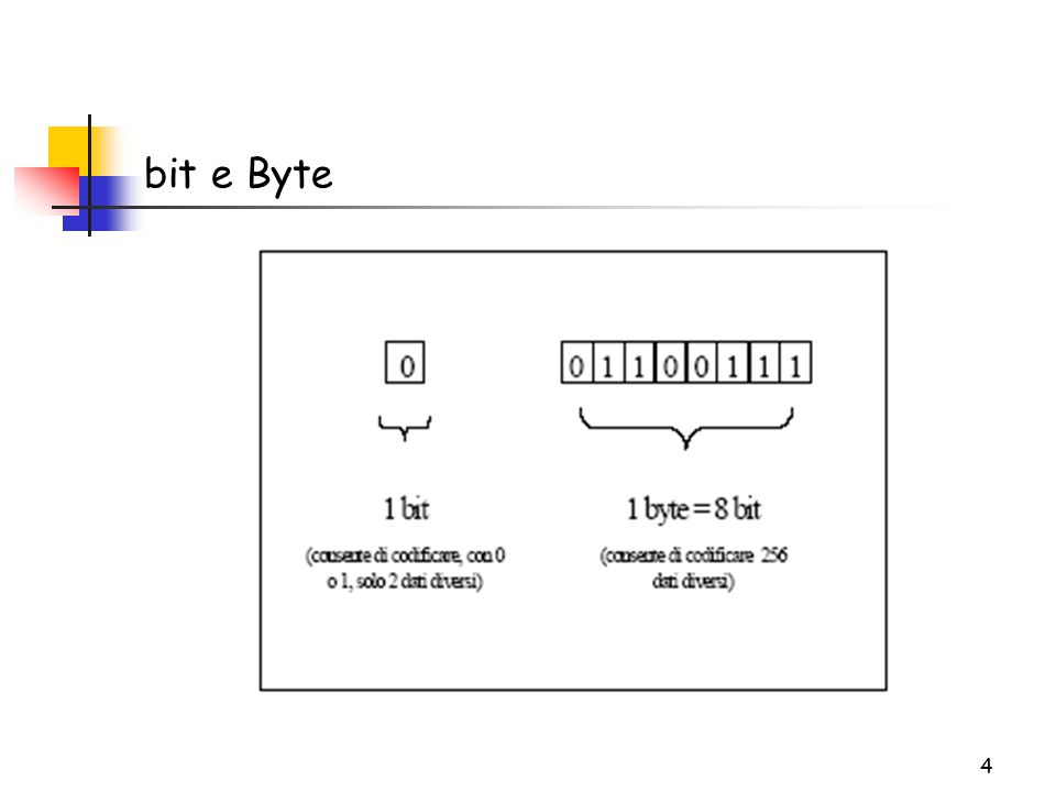 4 bit e Byte
