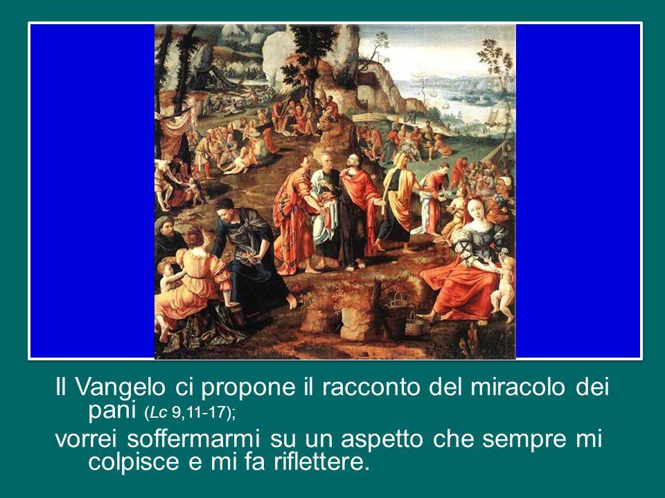 Giovedì scorso abbiamo celebrato la festa del Corpus Domini, che in Italia e in altri Paesi è spostata a questa domenica.