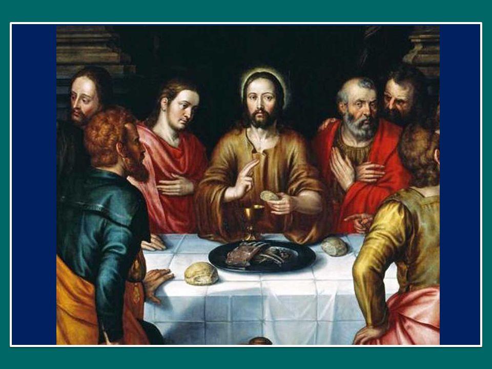 Perciò dice ai discepoli di far sedere la gente a gruppi di cinquanta – non è casuale questo, perché questo significa che non sono più una folla, ma diventano comunità, nutrite dal pane di Dio.