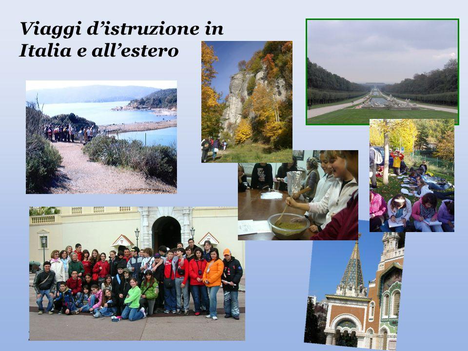 22/04/2015 Viaggi d'istruzione in Italia e all'estero