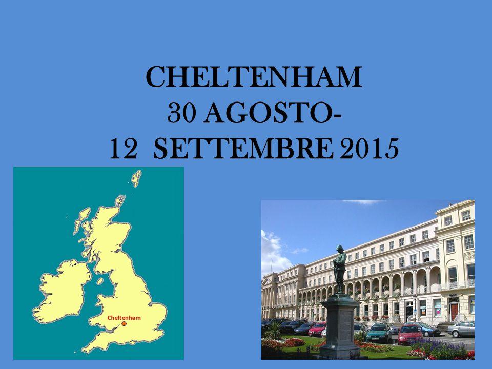 CHELTENHAM 30 AGOSTO- 12 SETTEMBRE 2015