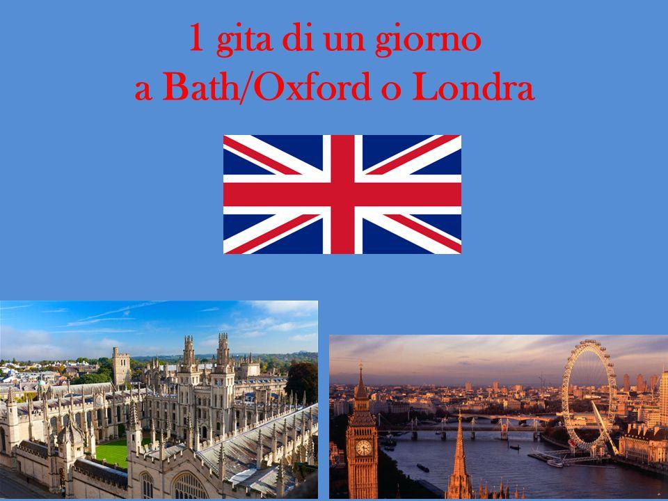 1 gita di un giorno a Bath/Oxford o Londra