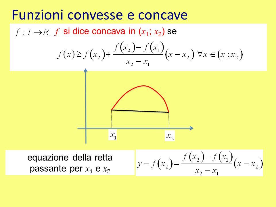 Teorema derivabile almeno n volte (con n maggiore o uguale a 2) in x 0, punto interno all'intervallo; se allora: x 0 è un punto di flesso per f Teorema derivabile almeno 2 volte.