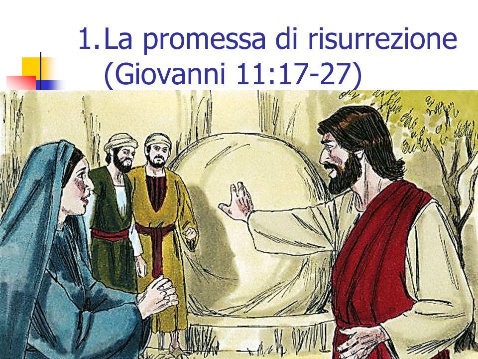 55 1.La promessa di risurrezione (Giovanni 11:17-27)