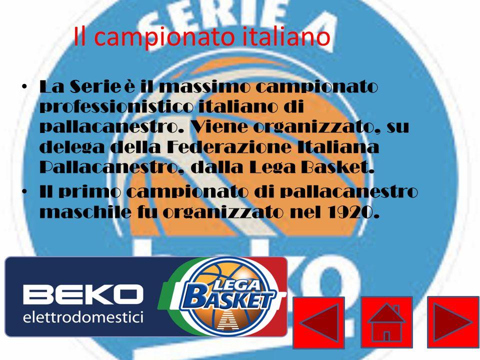 Il campionato italiano La Serie è il massimo campionato professionistico italiano di pallacanestro. Viene organizzato, su delega della Federazione Ita