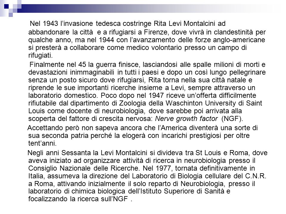 (1975) RENATO DULBECCO: Studiò per primo le trasformazioni indotte dalle radiazioni nel DNA dei fagi che lo portarono a scoprire il virus mutante dell