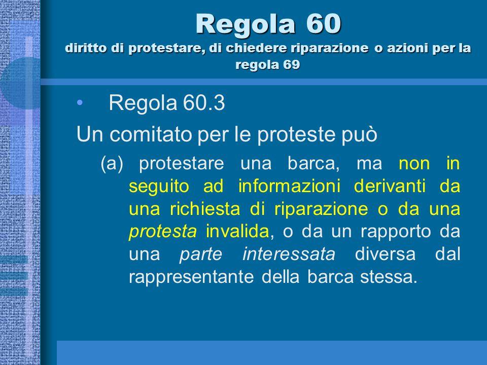 Quando un comitato per le proteste può protestare o chiedere riparazione .