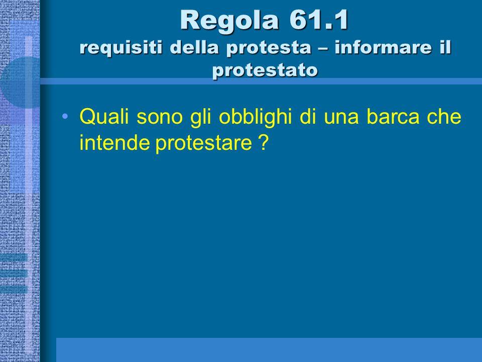 Regola 60.3 Un comitato per le proteste può a)…………………………..
