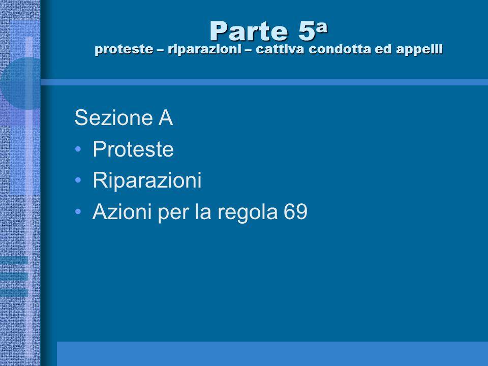 Ezio Fonda Regolamento di Regata 2013-2016 Sezione A Proteste – Riparazioni