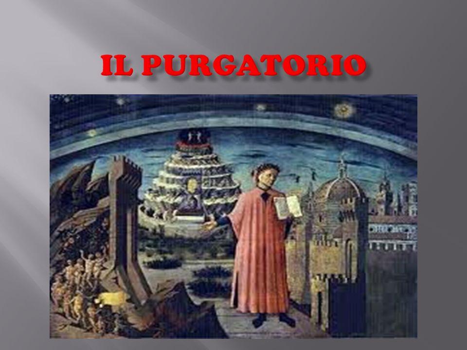 Il purgatorio: si è formato quando l'Angelo Lucifero viene scagliato da Dio sulla Terra, perché si era ribellato contro di lui.