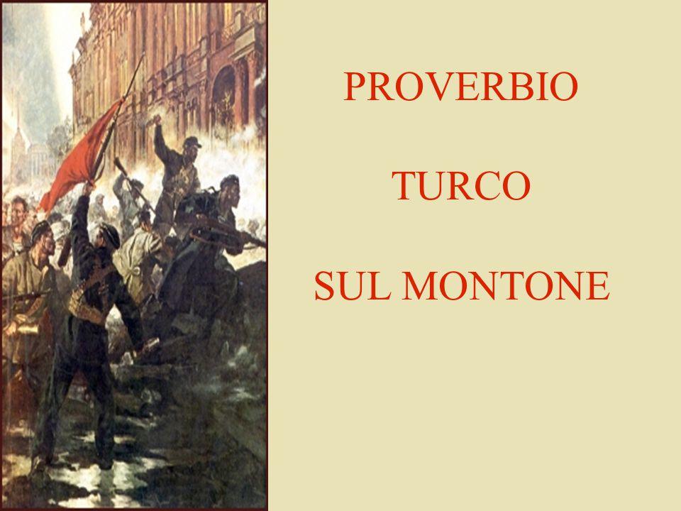 PROVERBIO TURCO SUL MONTONE