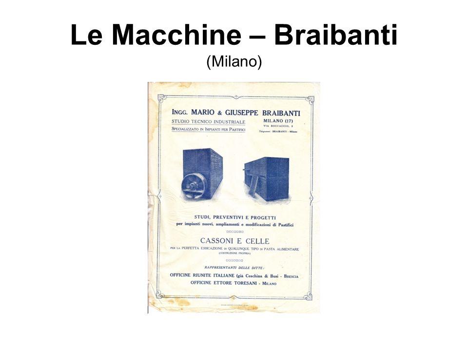 Le Macchine – Braibanti (Milano)