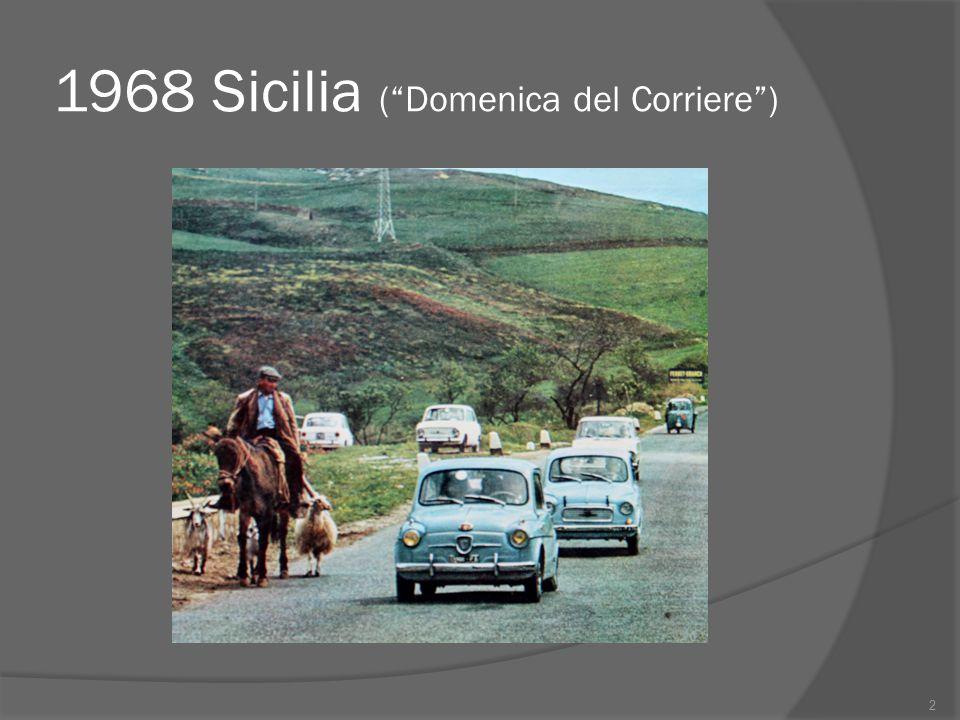 Processi di modernizzazione e rivoluzione dei consumi  Tra il 1958 e il 1971 i consumi degli italiani subirono una trasformazione radicale.