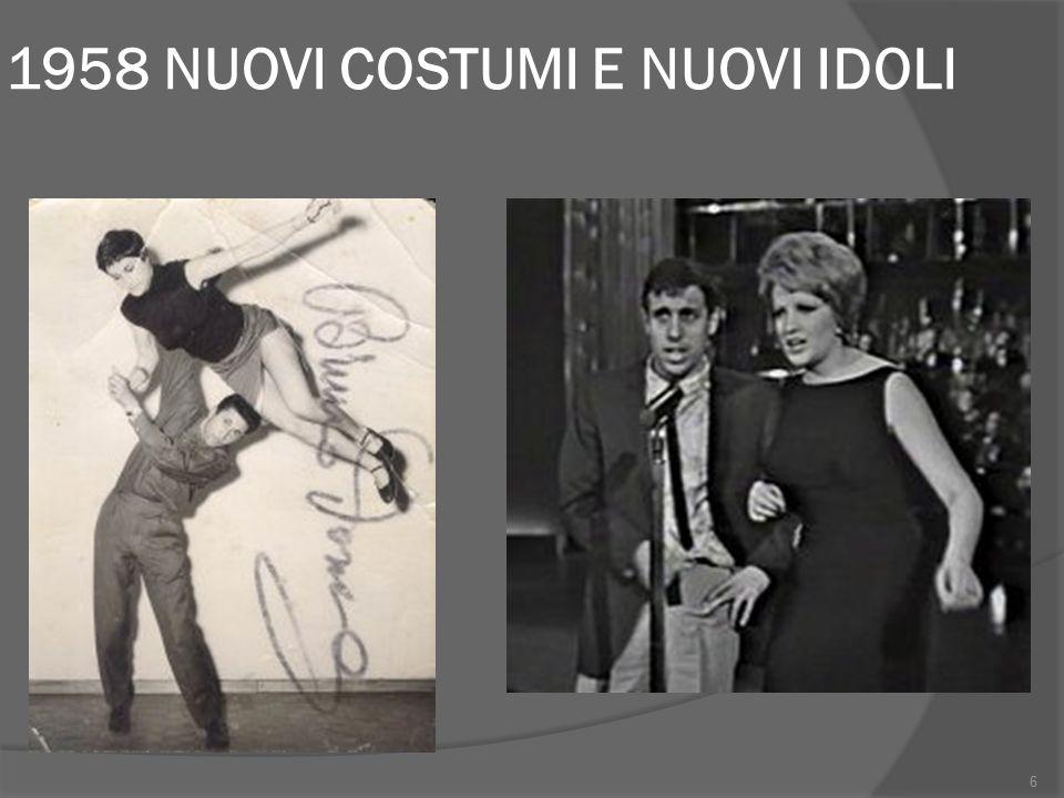 Periodizzazione: 1960  Lotte operaie e proteste dei giovani con la maglietta a strisce  Mobilitazioni antifasciste di luglio e proteste contro il governo Tambroni  Repressione da parte della polizia a Genova, Roma, Reggio Emilia (5 operai morti) 7