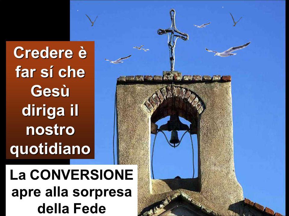 convertitevi e credete nel Vangelo.»