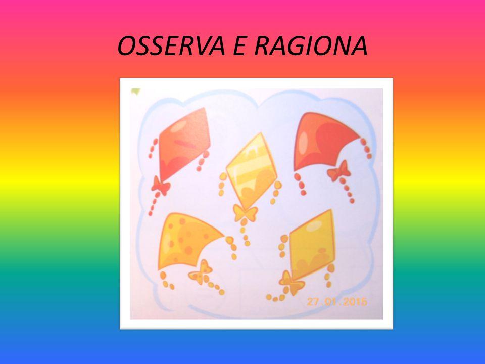OSSERVA E RAGIONA