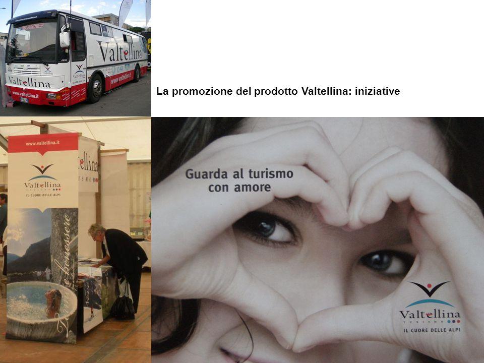La promozione del prodotto Valtellina: iniziative