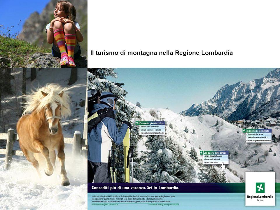 Il turismo di montagna nella Regione Lombardia