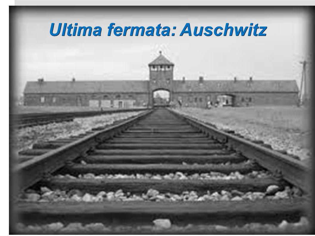 Ultima fermata: Auschwitz