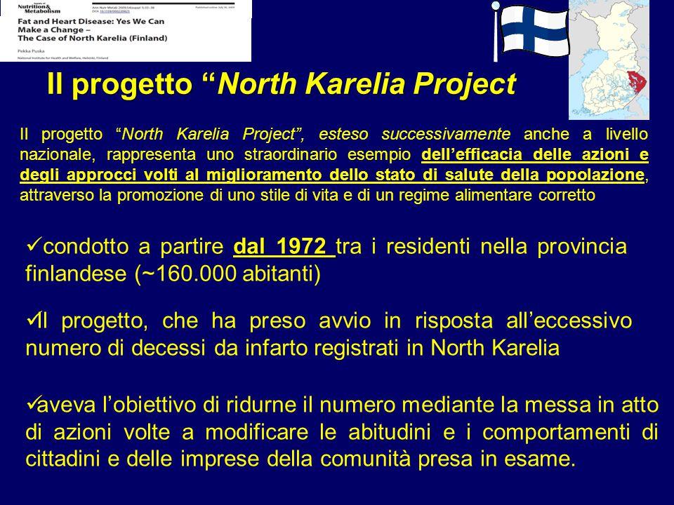 """Il progetto """"North Karelia Project"""", esteso successivamente anche a livello nazionale, rappresenta uno straordinario esempio dell'efficacia delle azio"""