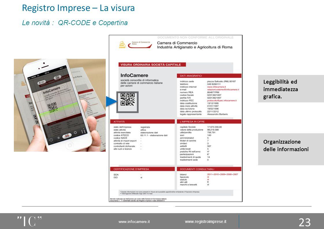 """23 Leggibilità ed immediatezza grafica. Organizzazione delle informazioni Il """"glifo"""" garantisce la non contraffazione del documento. Il «QR-CODE» gara"""