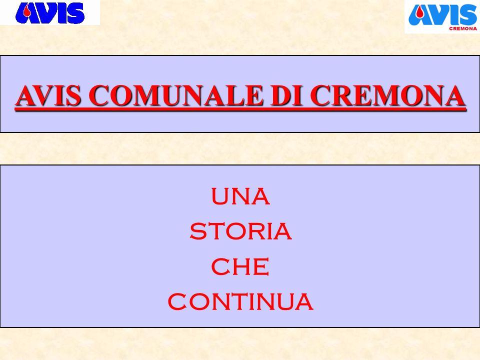 AVIS COMUNALE DI CREMONA ASSEMBLEA ANNUALE DEI SOCI Cremona, 22 febbraio 2015