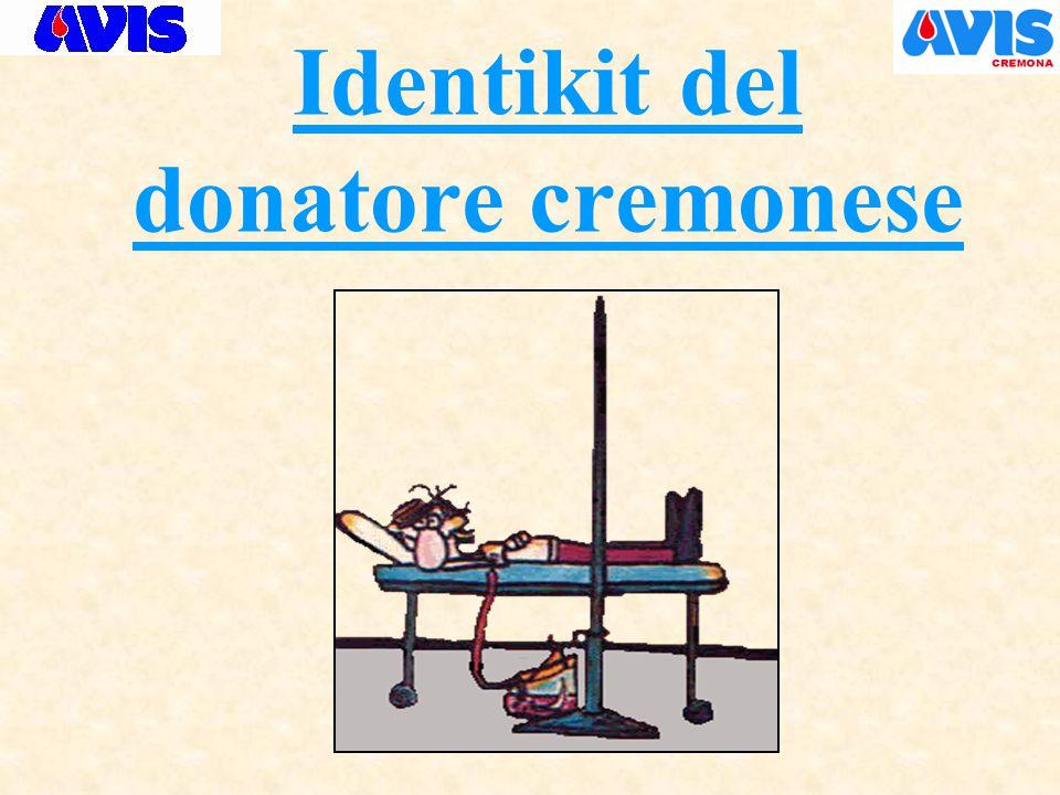 Identikit del donatore cremonese