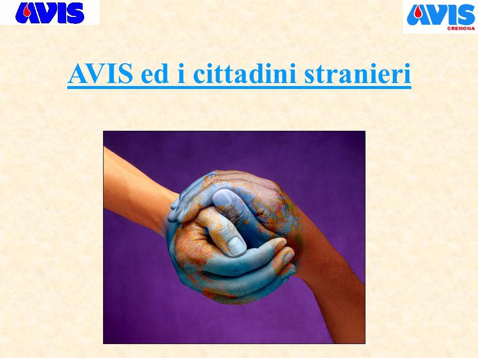 AVIS ed i cittadini stranieri