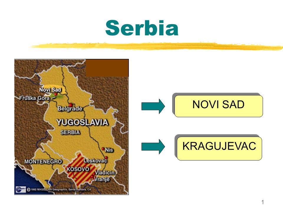 1 Serbia NOVI SAD KRAGUJEVAC