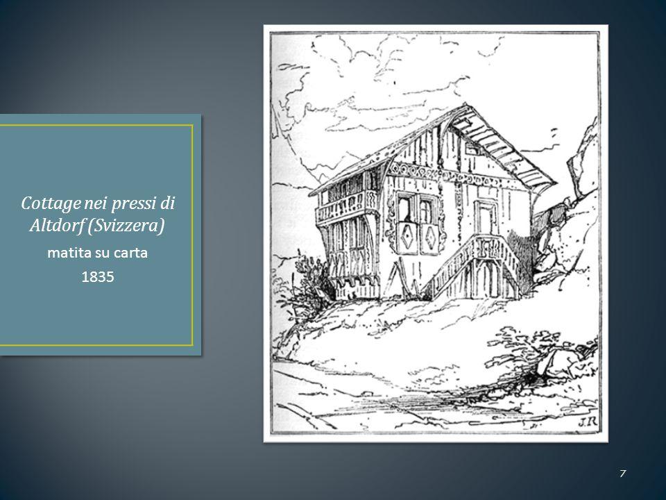 1836: Iscrizione al Christ Church College (Oxford) Periodo caratterizzato da:  Pressioni dei genitori  Problemi di salute 1839:  Primi successi in poesia  Incontro con Effie Gray 1840:  Primo incontro con William Turner 8 Christ Church from St.