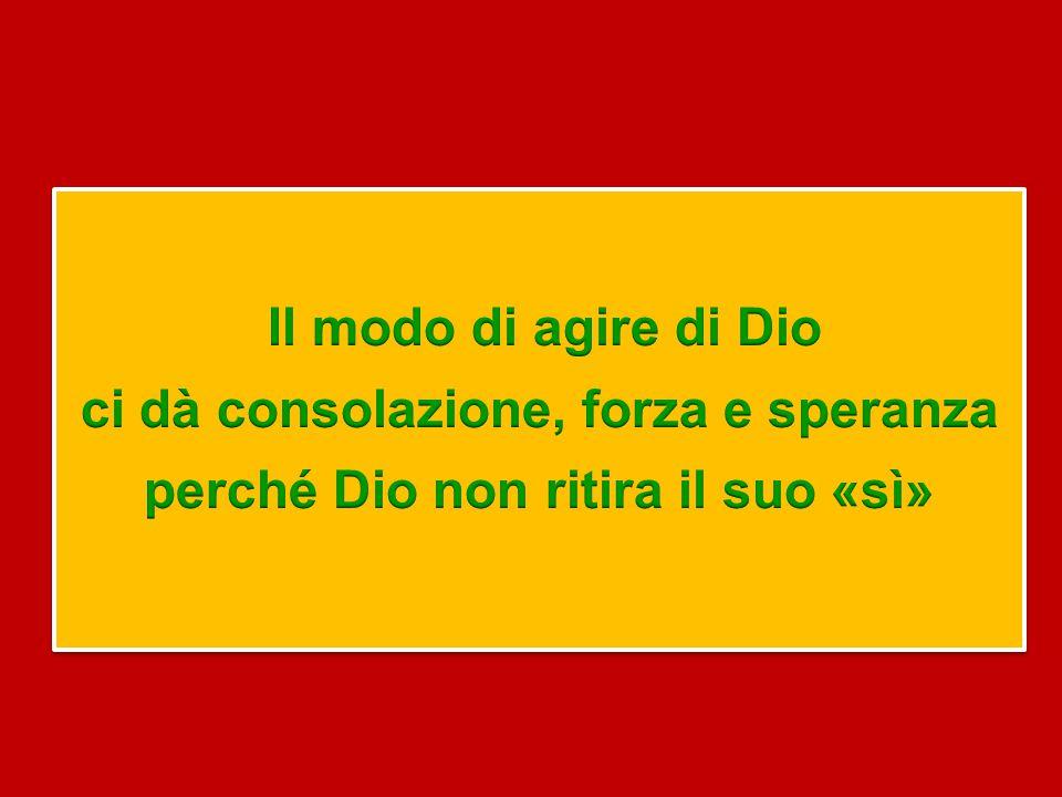 La fede non è primariamente azione umana, ma dono gratuito di Dio, che si radica nella sua fedeltà, nel suo «sì», che ci fa comprendere come vivere la