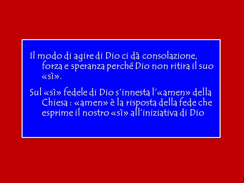 «Amen» è la risposta della fede che chiude sempre la nostra preghiera personale e comunitaria, e che esprime il nostro «sì» all'iniziativa di Dio.