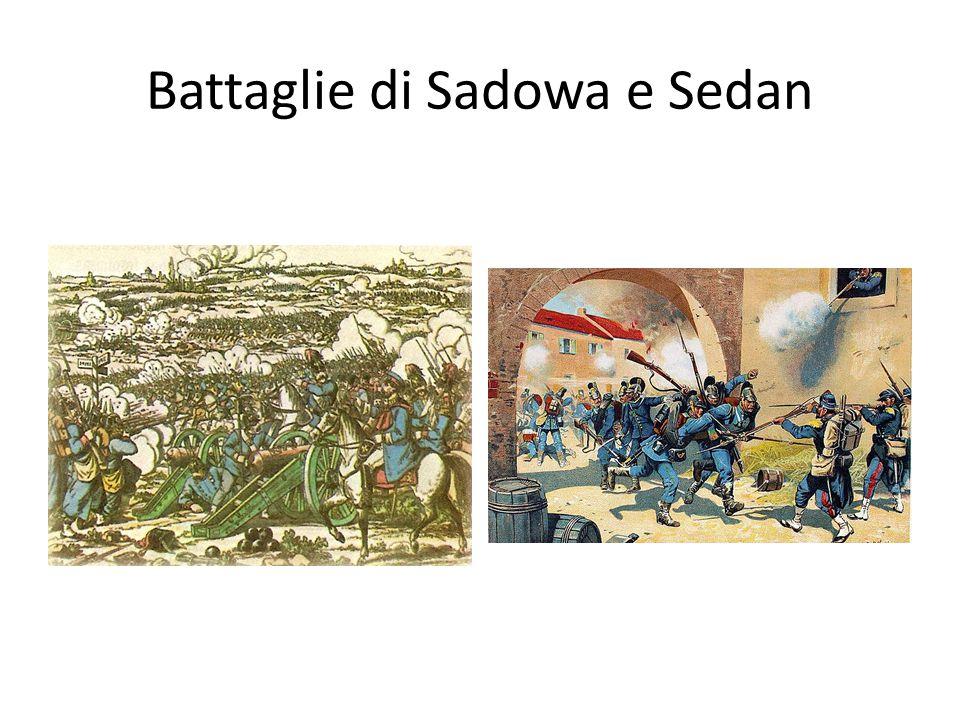 Battaglie di Sadowa e Sedan