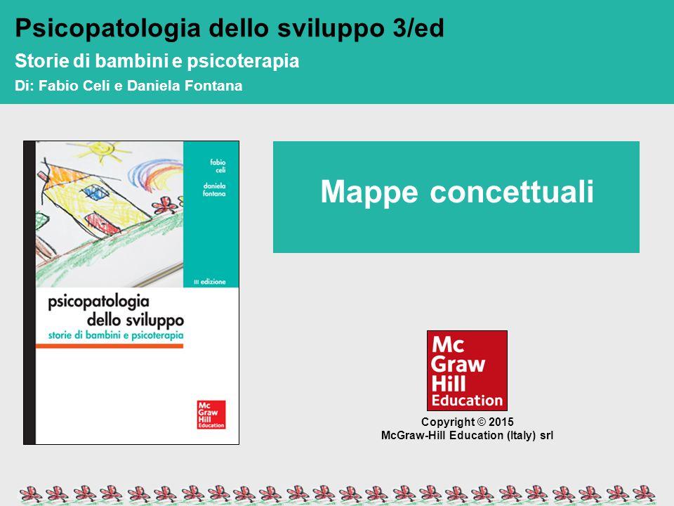 Mappe concettuali Psicopatologia dello sviluppo 3/ed di: Fabio Celi e Daniela Fontana Mappe concettuali Copyright © 2015 McGraw-Hill Education (Italy)