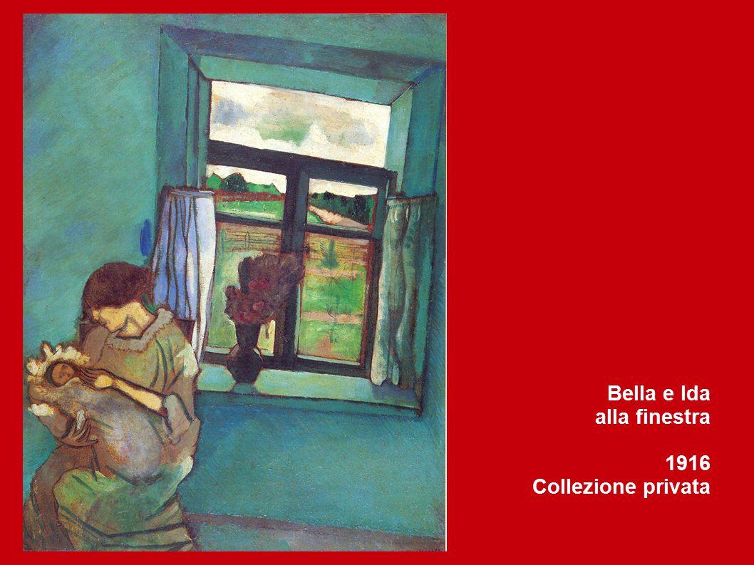 Bella e Ida alla finestra 1916 Collezione privata