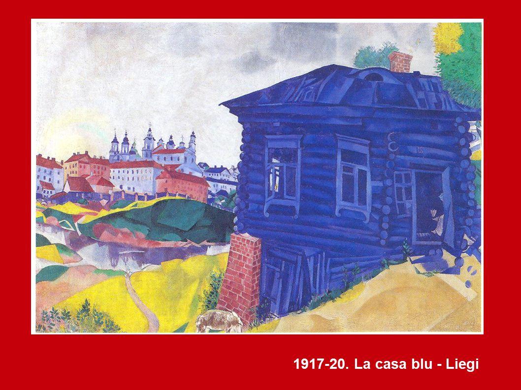 1917-20. La casa blu - Liegi