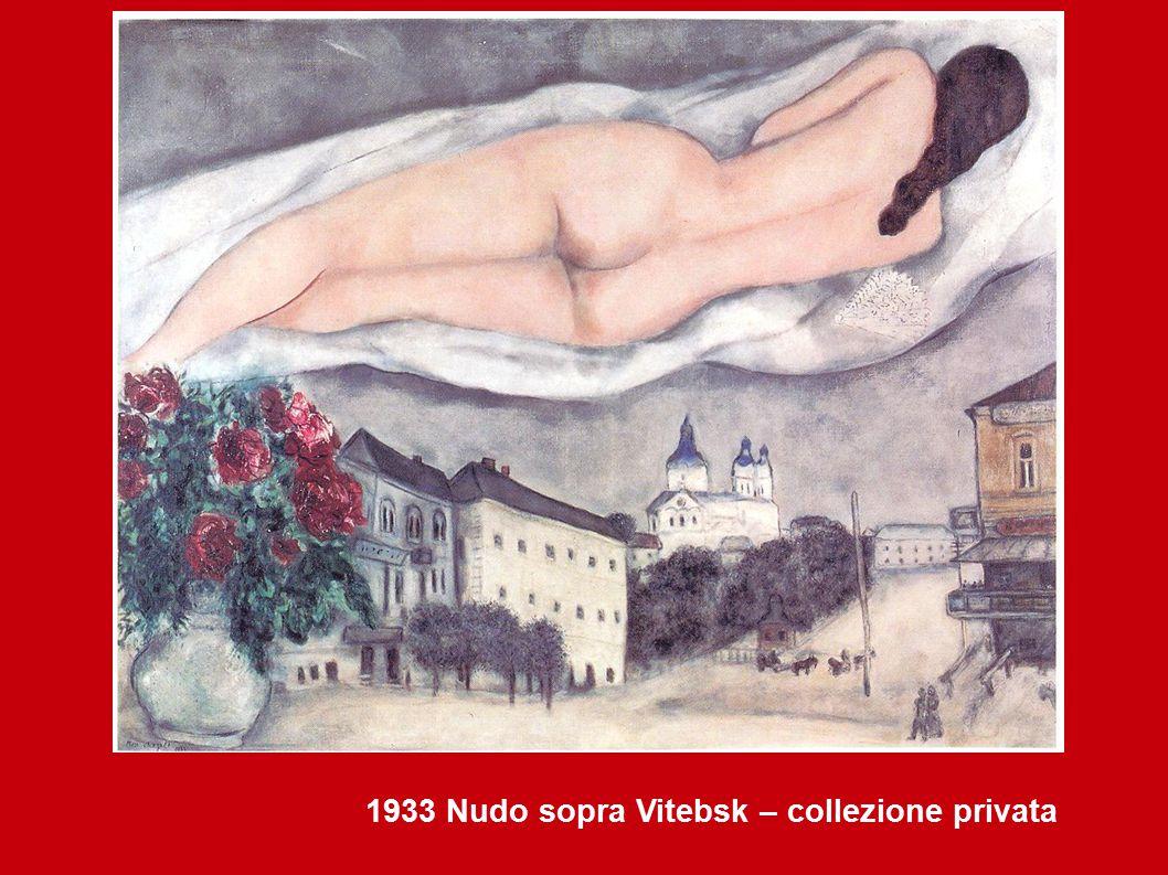 1933 Nudo sopra Vitebsk – collezione privata