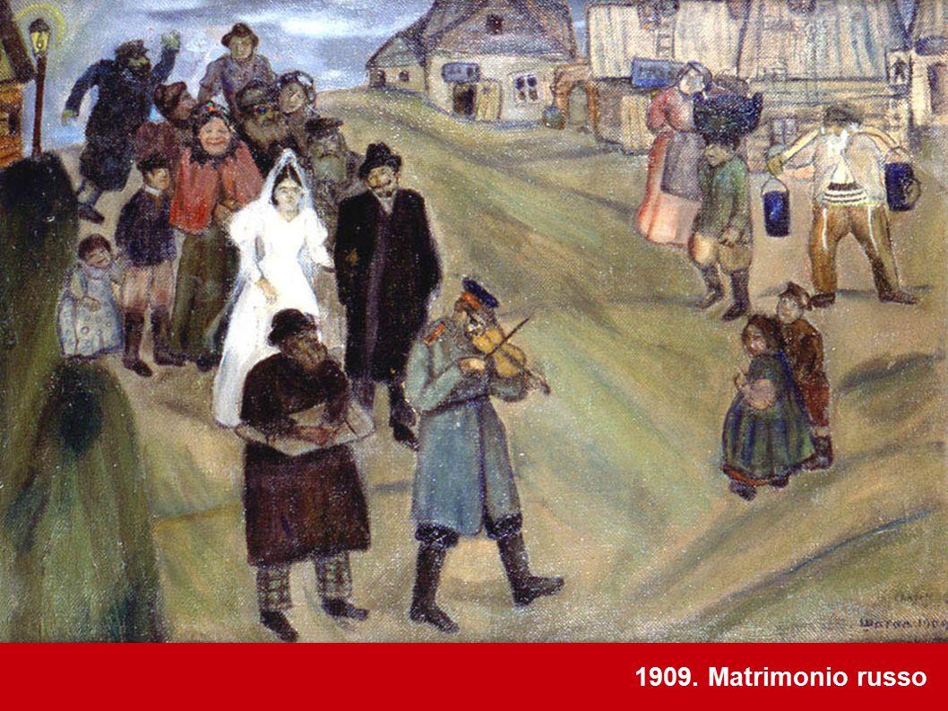 1909. Matrimonio russo