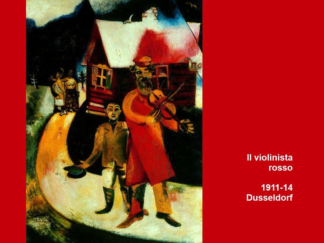 Il violinista rosso 1911-14 Dusseldorf
