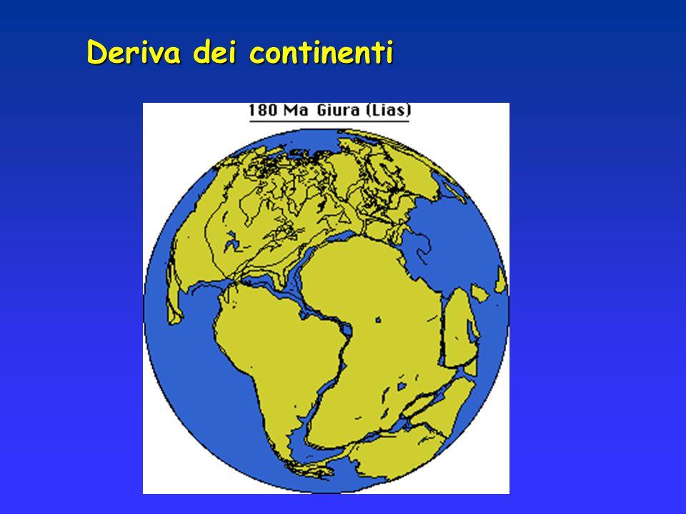 Il mondo scientifico rifiutò la teoria di Wegener perché il mantello era ritenuto un insieme rigido di rocce e perché non esistevano segni evidenti sui fondali oceanici di questi movimenti Meccanismo alla base della deriva dei continenti: rotazione terrestre rotazione terrestre