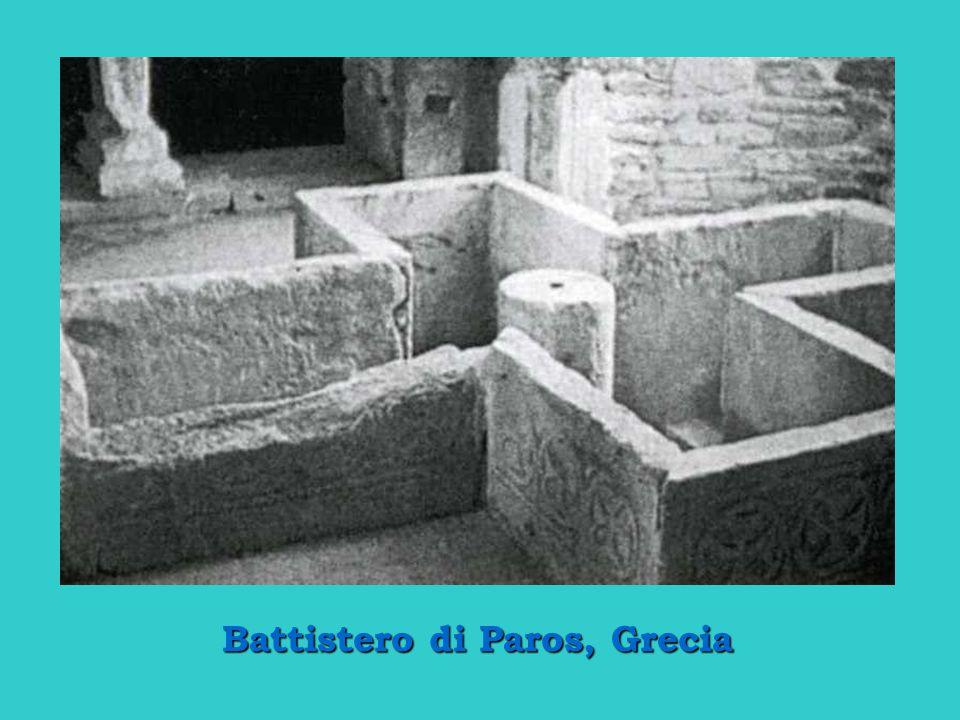 Battistero di Paros, Grecia